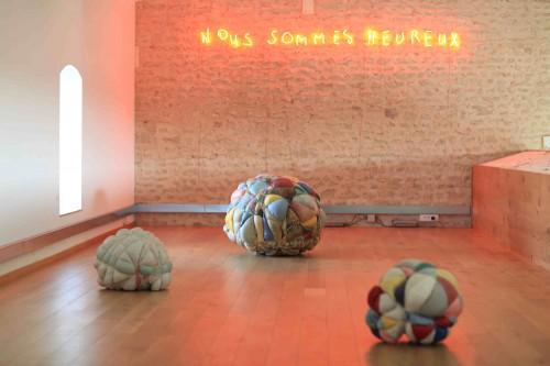 matelas-boules aux Modillons 2012