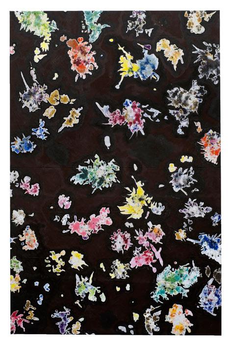 peinture, 2014, (200 x 130 cm)