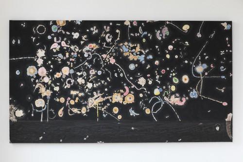 peinture, 2015 ( 220 x 120), épaisseur 6 cm
